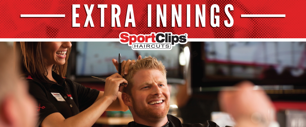 The Sport Clips Haircuts of Buford  Extra Innings Offerings