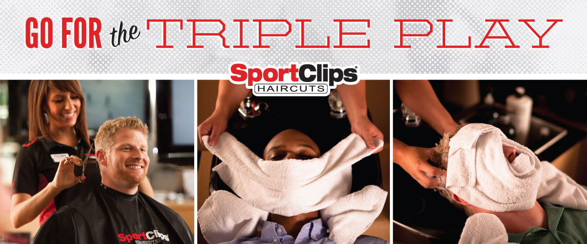 The Sport Clips Haircuts of Buford  Triple Play